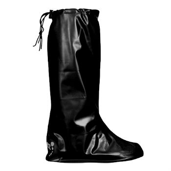 Black Pocket Wellies - M (UK 6-8)